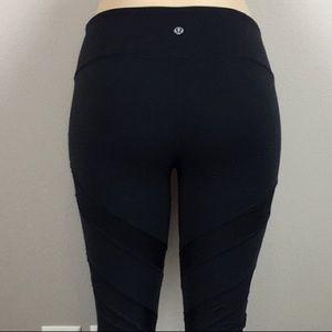 Lululemon wunder under leggings black